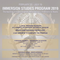 2019 Immersion Program