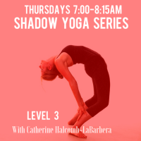 Shadow Yoga Thu. 7-8:15AM